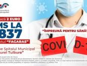 Spitalul din Făgăraș a primit donații de 1,4 milioane lei. Primăriile din zonă au donat sume importante