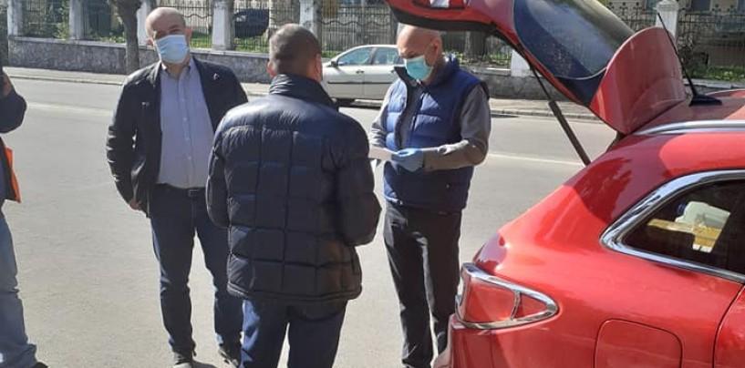 Asociația T9 a donat măști și combinezoane profesionale Spitalului Municipal Turda