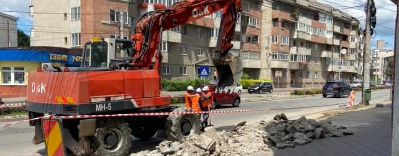 """Andrei Suciu despre lucrările de pe strada Libertății : """"Productivitate zero! Doar teatru ieftin"""""""