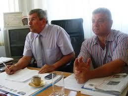 Dorel Corpodean și Sorin Sabău au ajuns la PNL. În fotografie, la o conferință de presă de la Turda pe când erau la Partidului Umanist al lui Voiculescu